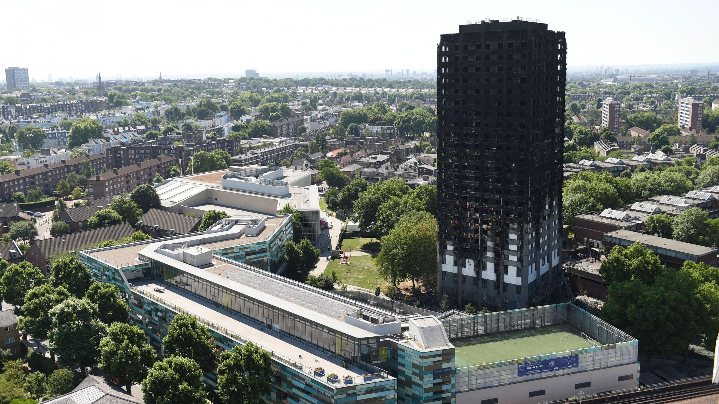 Everything you need to know about the Grenfell Tower fire protest